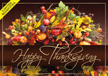 Harvest Treasures Thanksgiving Cards