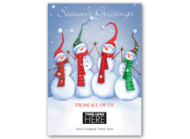 High Five Gang Holiday Logo Cards